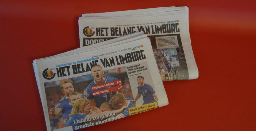 Vanaf nu ligt uw krant klaar in de wachtzaal